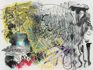 500 Brushstrokes #54五百笔 #54 by Wu Jian'an contemporary artwork