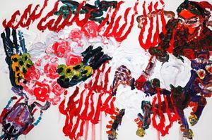 Ladybird's Garden 1 by Chen Ping contemporary artwork