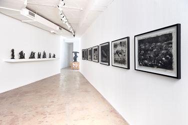 Exhibition view: William Kentridge, KABOOM!, Goodman Gallery, Johannesburg (13 October–10 November 2018). Courtesy the artist and Goodman Gallery.