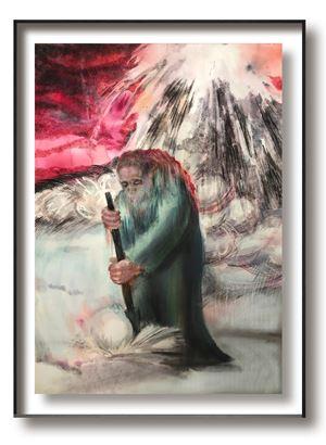Silence No.9 by Cai Jiarui contemporary artwork