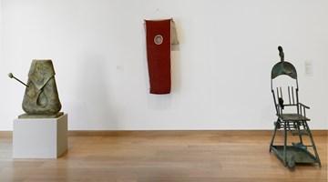 Contemporary art exhibition, Group Exhibition, Two Pataphysicians:  Flanagan, Miró at Waddington Custot, London