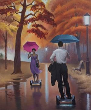 The Encounter of Life by Wang Xingwei contemporary artwork