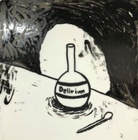 Delirium by Rae Sim contemporary artwork painting, works on paper, drawing