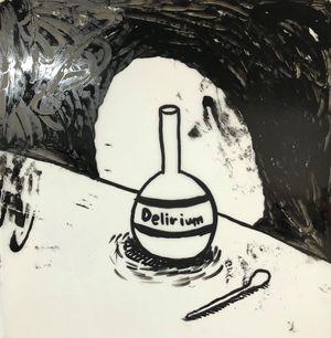 Delirium by Rae Sim contemporary artwork