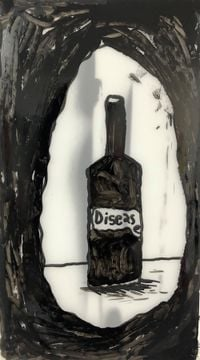 Disease by Rae Sim contemporary artwork painting, works on paper, drawing