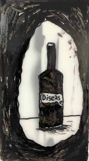 Disease by Rae Sim contemporary artwork