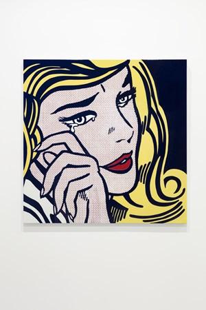 Crying Girl by Roy Lichtenstein contemporary artwork