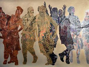 Frieze #9 by Aziz + Cucher contemporary artwork