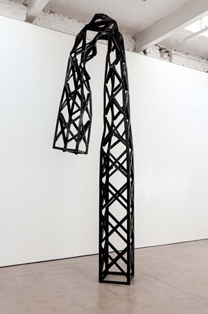 Truss by Monika Sosnowska contemporary artwork