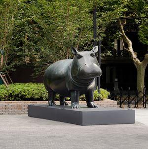 Hippopotamus 河马 by Daniel Daviau contemporary artwork