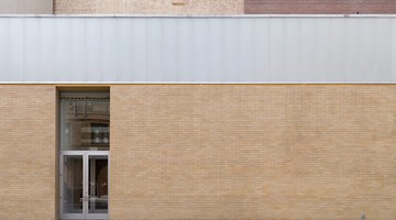 Gagosian contemporary art gallery in West 21st Street, New York, USA