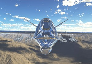 MQ-9 Reaper by Baden Pailthorpe contemporary artwork moving image