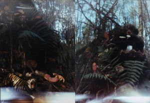 Foret 1 (Forest 1), Foret 2 (Forest 2) by Kim Soun-Gui contemporary artwork