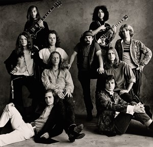 Rock Groups, San Francisco by Irving Penn contemporary artwork