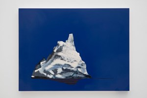 Blue Iceberg (Blue Valentine) by Whitney Bedford contemporary artwork