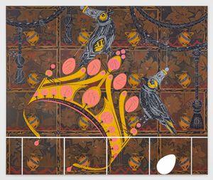 Diorama 1 by Lari Pittman contemporary artwork