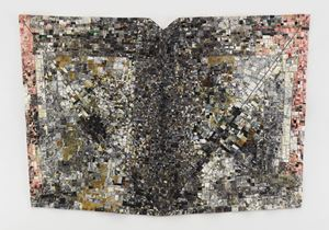Mask II: For Ronald Brown by Jack Whitten contemporary artwork
