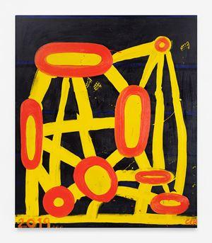 Superbloom (Night) by Chris Martin contemporary artwork