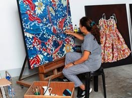 Filipino Artists Rodel Tapaya & Marina Cruz Collaborate With Jim Thompson
