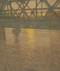 Sunrise by Sejin Kwon contemporary artwork painting, drawing