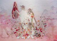 Mythology-Origin by Asami Kiyokawa contemporary artwork textile