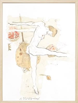 The Neutral Nude Series No. 3 by Tan Seow Wei contemporary artwork