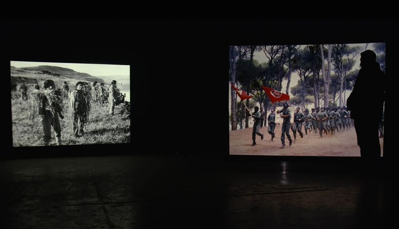 Lawrence Abu Hamdan Once Removed, still, HD video, colour, sound, 30 minutes, 2019