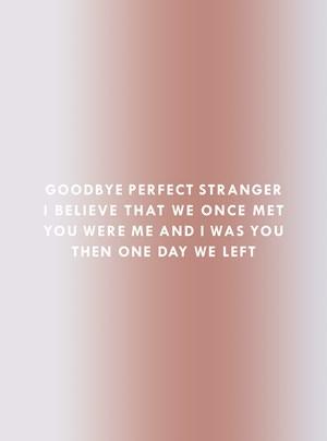 Goodbye Stranger by Dawn Ng contemporary artwork