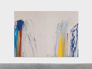 Cinquième lune by John M Armleder contemporary artwork