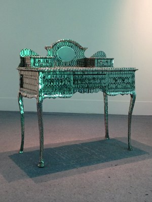My Mother's Dressing Table by Lipi contemporary artwork