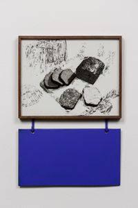 Untitled (Bread, Jam) by Elad Lassry contemporary artwork sculpture, photography