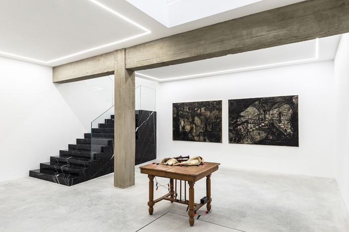 Exhibition view: Group Exhibition, Grand Opening Roma, Rolando Anselmi, Rome (16 October–20 December 2020). Courtesy Rolando Anselmi.
