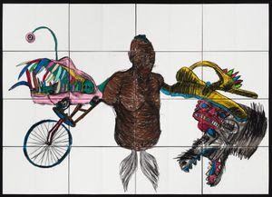 KINGA by Pierre Mukeba contemporary artwork