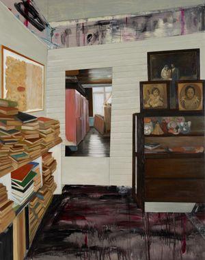 Elevated Storage Room by Marina Cruz contemporary artwork