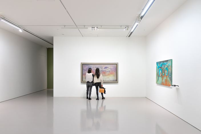 Exhibition view: Tommy Chen, A Trailblazer in Abstract Art, Eslite Gallery, Taipei (25 December 2020–23 January 2021). CourtesyEslite Gallery.
