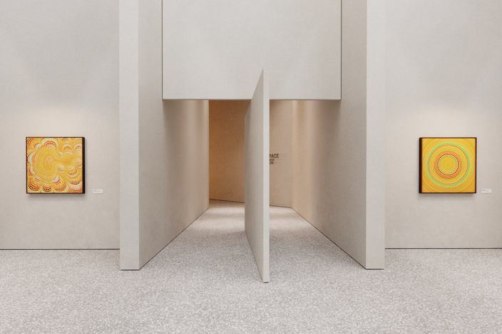 Exhibition view: Minoru Onoda, Through another Lens, Anne Mosseri-Marlio Galerie, Basel (22 April–30 July 2021). © Oppenheim Architecture. Courtesy Anne Mosseri-Marlio Gallery.