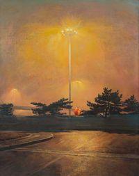 Si Yuan Bridge by Lu Liang contemporary artwork painting