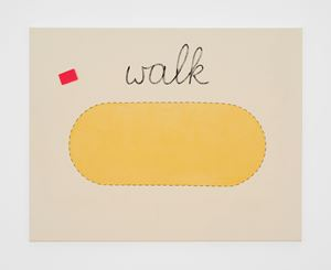 Untitled (walk) by Luca Frei contemporary artwork