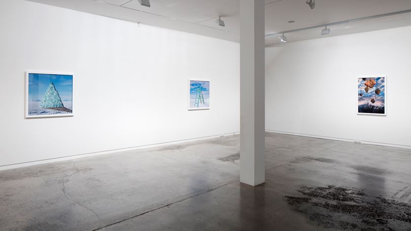 Megan Jenkinson, The Coincident Present, 2016. Exhibition view, Two Rooms, Auckland. Image courtesy Two Rooms, Auckland.
