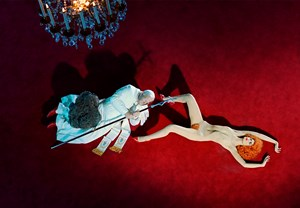The Ninth Hour (after Cattelan) by Miles Aldridge contemporary artwork