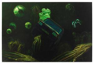 Land Rover by STEVE MUMFORD contemporary artwork