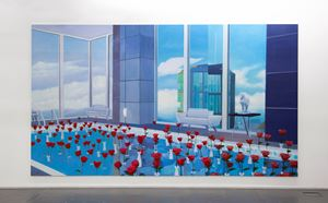 Home Sweet Home: Long Rose Pool by Mak Ying Tung 2 contemporary artwork