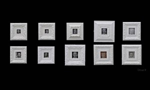180 Faces by Liu Wei contemporary artwork