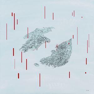Artificial Bird's Nest by Zhu Rixin contemporary artwork