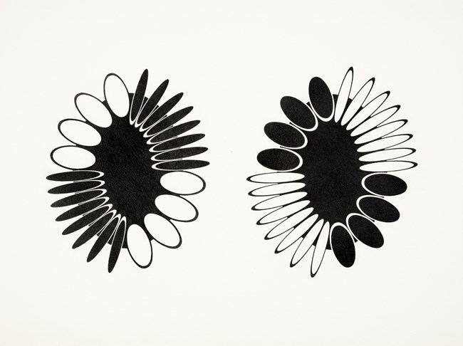 Orbitors 8 by Jane Harris contemporary artwork