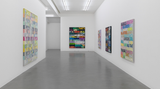 Contemporary art exhibition, Mel Bochner, GOING OUT OF BUSINESS! (and other recent paintings on velvet)  at Simon Lee Gallery, London, United Kingdom