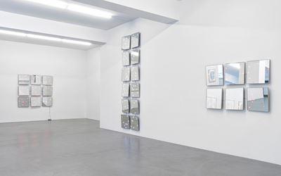 Exhibition view: Tatsuo Miyajima,Flower Dance, Galerie Buchmann, Berlin (28 April–24 June 2017). Courtesy Galerie Buchmann.