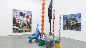 Contemporary art exhibition, Zhou Yilun, Superstition, Blessing, Modernism at Cc Foundation & Art Centre, Beijing