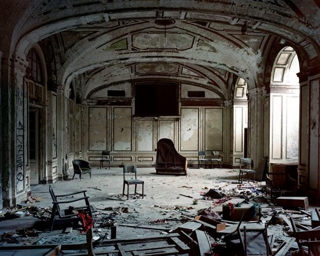 Ballroom (Lee Plaza Hotel, 2240 West Grand Blvd), Detroit, MI by Frank Schwere contemporary artwork