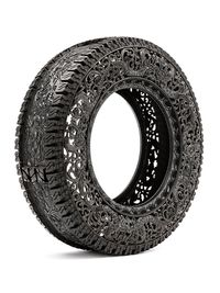 Untitled (Car Tyre) by Wim Delvoye contemporary artwork mixed media